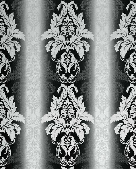 chambre baroque noir et blanc papier peint noir et blanc chambre
