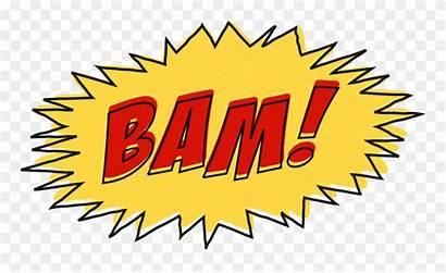 Bam Comic Effect Sound Clipart Clip Comics