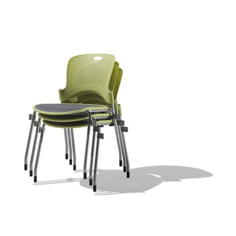 herman miller caper stacking chair with flexnet seat and