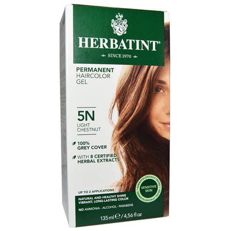 5n hair color herbatint permanent haircolor gel 5n light chestnut 4