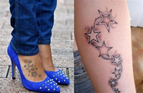 Interessante Ideenunterarm Taetowierung Gesicht by Motive F 252 R Frauen Gestirn Auf Dem Spann Unterarm