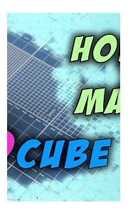 🎥 How to make 3D cube, Origami - YouTube