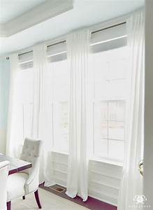 How, To, Put, Two, Curtains, On, One, Rod
