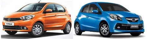 Honda Brio Vs Hyundai I20 by Nissan Micra Cvt Vs Honda Brio At Comparison Review