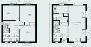 Plan Maison A Etage : plan maison 100m2 a etage lovely de madame ki ipsitaco plan maison etage 100m2 ~ Melissatoandfro.com Idées de Décoration