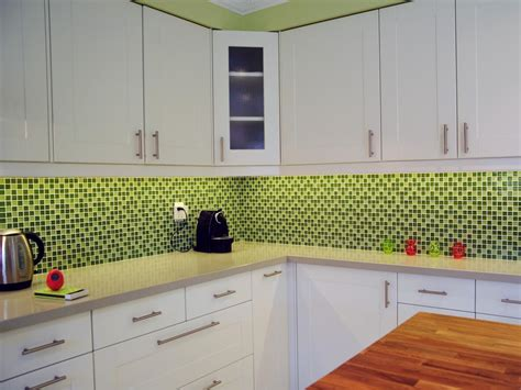 green tile backsplash kitchen 30 colorful kitchen design ideas from hgtv kitchen ideas