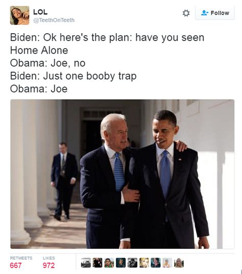 Biden Trump Memes - 16 of the funniest joe biden and obama memes the poke