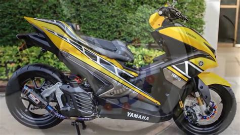 Modifikasi Aerox 155 by Modifikasi Yamaha Aerox 155 Cc