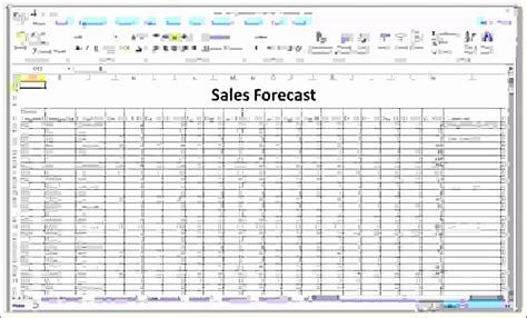 excel forecasting template excel templates excel