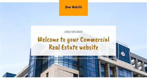 commercial real estate website templates commercial real estate website templates godaddy