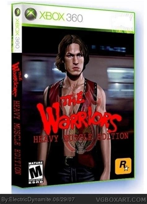 warriors heavy muscle edition xbox  box art cover