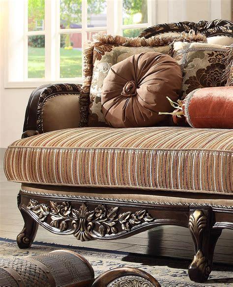 25 amazing victorian sofa ideas for elegant living room. Victorian Beige Chenille Sofa Set 5Pcs Traditional Homey ...
