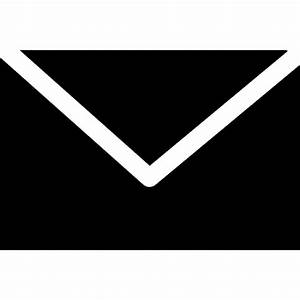 Email black envelope shape Icons | Free Download