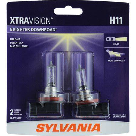 sylvania  xtravision halogen headlight bulb pack