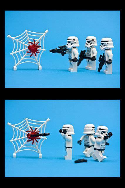 Stormtroopers VS spider | Lego star wars, Star wars jokes ...