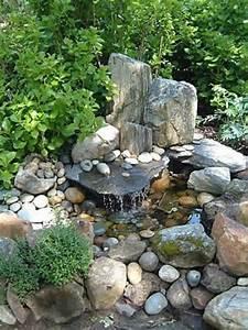 cascade et fontaine de jardin 69 deco pour les moments With amenagement de jardin avec des pierres 17 la deco exterieure avec une fontaine murale archzine fr
