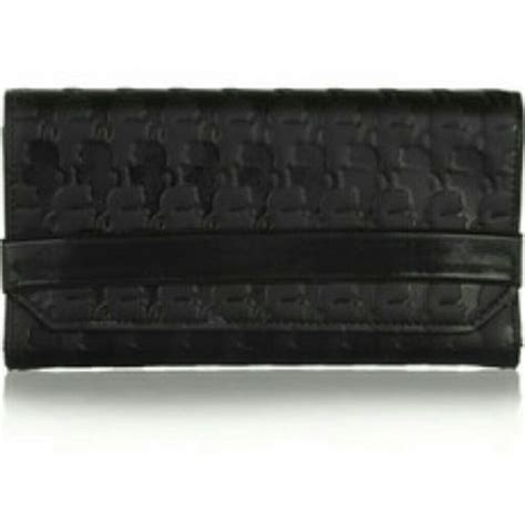 karl lagerfeld logo stamped wallet nwt  images