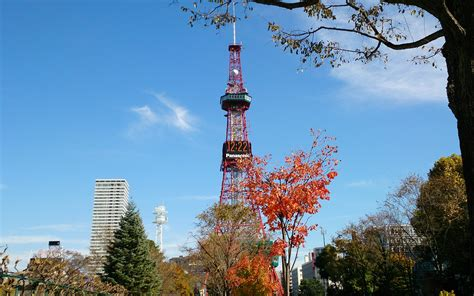 japan sapporo blue sky broadcasting tv tower preview
