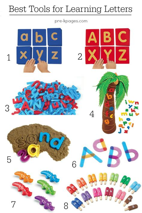 alphabet activities for pre k and preschool 968 | Best Hands On Tools for Learning Letters of the Alphabet