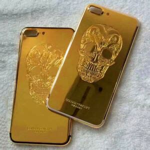 gold plated skull limited edition  housing cover