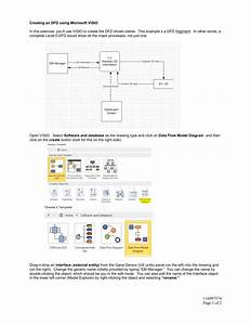 Creating An Dfd Using Microsoft Visio