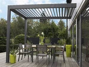 terrassen uberdachung aus aluminium eigenschaften vorteile With photo amenagement terrasse exterieur 18 porte alu laque canon