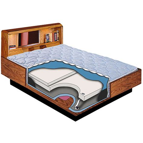 blue magic evolution i waterbed hardside cover walmart
