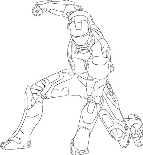 Ironman Coloring Pages Only Coloring Pages