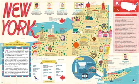 Explore The U.s.a. With 50 Fact-filled Maps