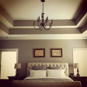 Double Tray Ceiling Add Crown Moulding To Really Make It