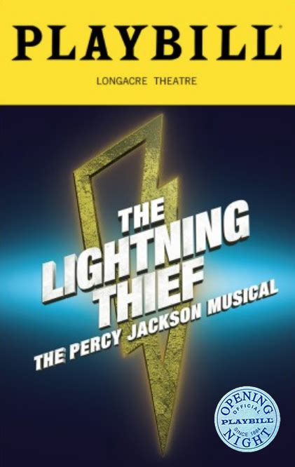 The Lightning Thief: The Percy Jackson Musical Limited ...