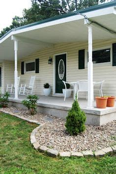 landscaping around porch 1000 images about front porch beautification project on