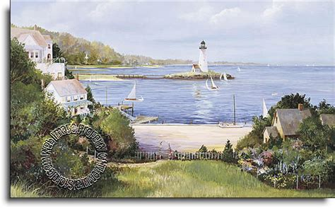 lighthouse cove c823 wall mural size large wall murals the mural store