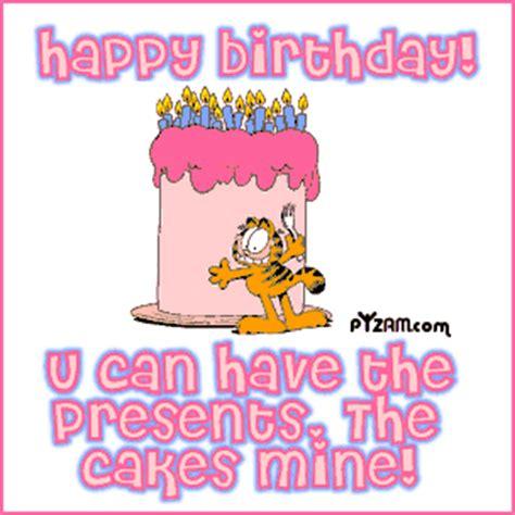 happy birthday cake garfield facebook comments