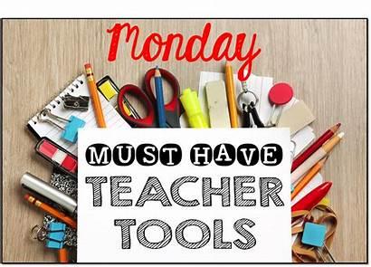 Tools Teacher Must Monday Teachers Week Tool