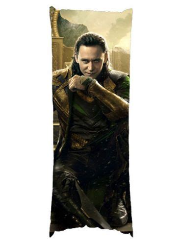 New Tom Hiddleston Loki Laufeyson 21 X 60 Body Pillow