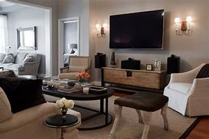 Bachelor Pad - Contemporary - Living Room - baltimore - by