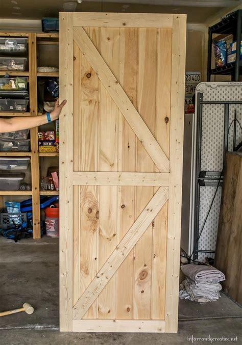 diy sliding double barn doors reclaimed wood