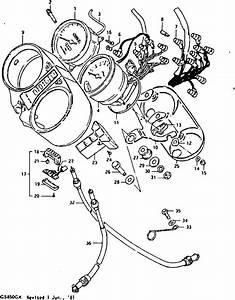 Mick Hone - Gs850g 1980 - Speedometer