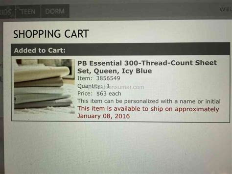 pottery barn orders pottery barn customer service can t cancel orders