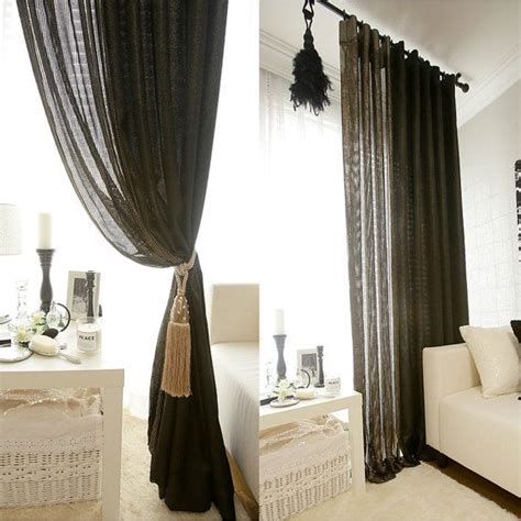 17 best ideas about black sheer curtains on