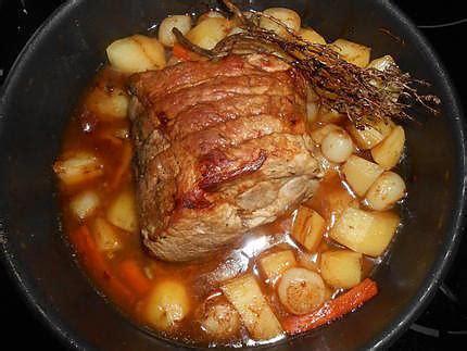 recette de roti de porc en cocotte