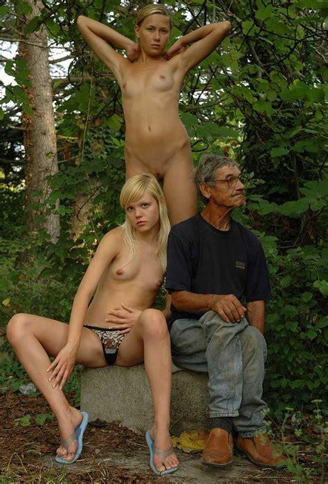 Two Teen Blonde Posing To Homeless Man Russian Sexy Girls