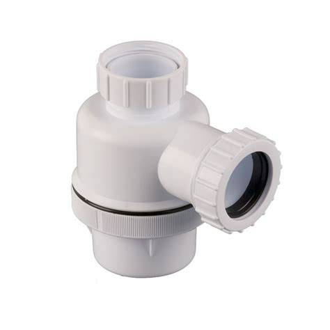 toilet waste pipe sealant plumbing waste pipe universal bottle trap 76mm seal anti vac 32mm drainage superstore 174
