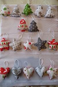 Tissu De Noel : decoration de noel en tissu a faire soi meme ~ Preciouscoupons.com Idées de Décoration