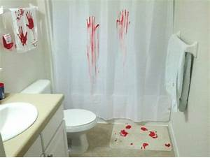 the bathroom blog halloween decoration ideas for the With crime scene bathroom decor