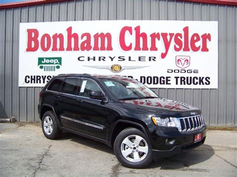 Bonham Chrysler Dodge Jeep by The New 2011 Jeep Grand Laredo Suv Is In Stock At