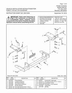 Hiniker Snow Plow Wiring Diagram