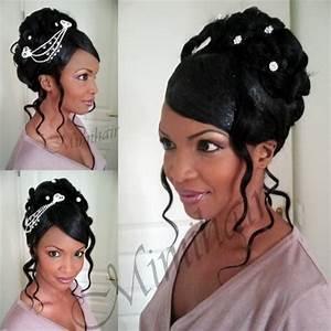 Coiffure Femme Pour Mariage : coiffure afro mariage ~ Dode.kayakingforconservation.com Idées de Décoration