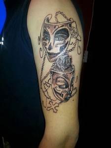 Stooned masken 1 sitzung tattoos von tattoo bewertungde for Tattoo vorlagen masken